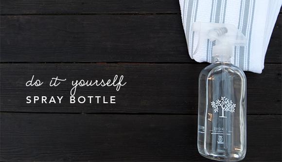 Blog Post Image - DIY Spray bottle
